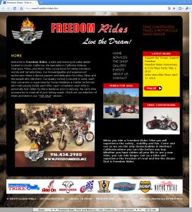 Freedom Rides Trike Conversions